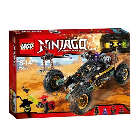 Lego Ninjago 70589 Rock Roader Overwin Het Stenen Leger Met
