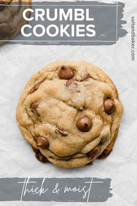 Best Homemade Cookie Recipe, Best Chocolate Chip Cookies Recipe, Easy Cookie Recipes, Homemade Desserts, Easy Desserts, Delicious Desserts, Dessert Recipes, Chocolate Desserts, Yummy Recipes