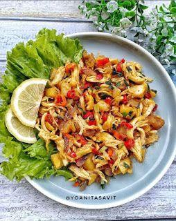 Oseng Ayam Suwir Pedas Di 2020 Resep Masakan Makanan Dan Minuman Resep Ayam