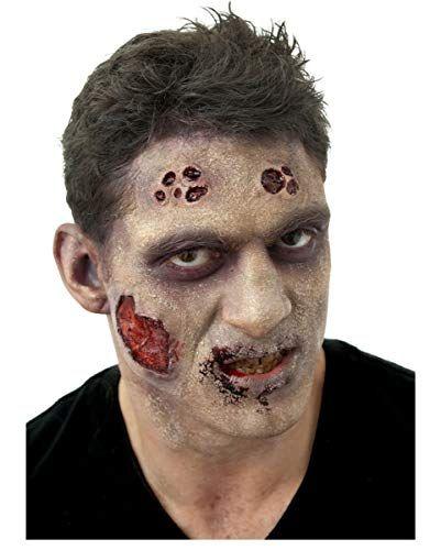 Halloween Zombie Schmink.Horror Shop Zombie Schmink Komplett Set Als Halloween Make