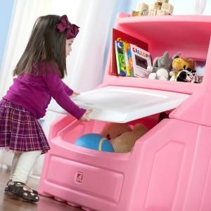 Step2 Lift And Hide Pink Kid S Storage Bookcase Kids Storage Bookcase Storage Kid Toy Storage