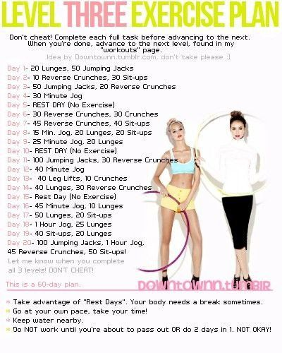 60 Day Workout Plan 60 Day Workout Challenge Workout Plan 60 Day Workout Plan Exercise
