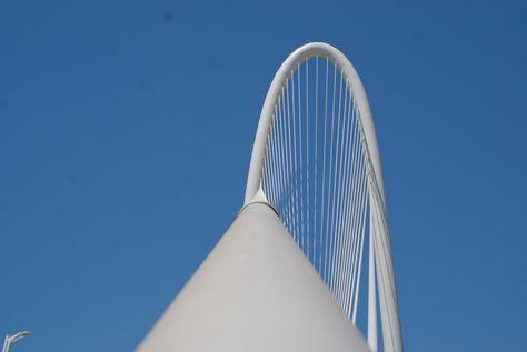 The Margaret Hunt Hill Bridge - Most Beautiful Bridge I've ever seen... in Texas