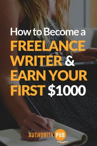 When You Re Learning How To Become A Freelance Writer You Don T Have To Look Far To Find Detailed Tutoria Writing Jobs Freelance Blogging Professional Writing