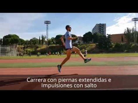 Rutina de técnica de carrera para el calentamiento por Pablo Villalobos - YouTube