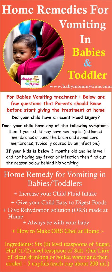 Pin By Ryna Tabares On All About Kids Home Remedies For Vomiting Baby Vomiting Baby Health