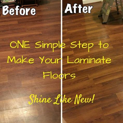 Laminate Floors Make Them Shine Again How Clean