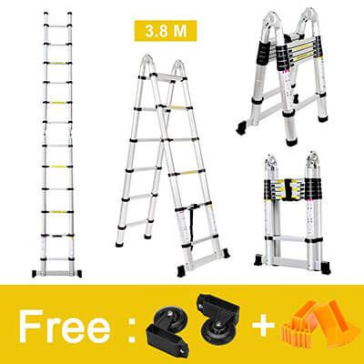 Top 10 Best Telescoping Ladders In 2020 Reviews Amaperfect Multi Purpose Ladder Step Ladders Telescopic Ladder
