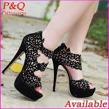 Zapatos de plataforma para vestidos de noche