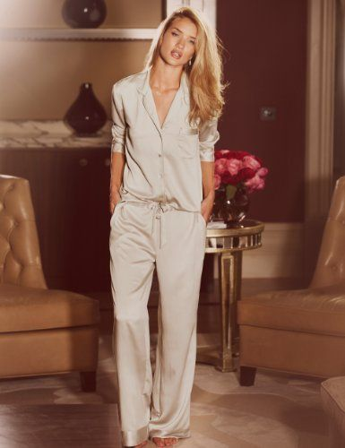 Rosie for Autograph Luxurious Satin Revere Pyjamas - Marks & Spencer