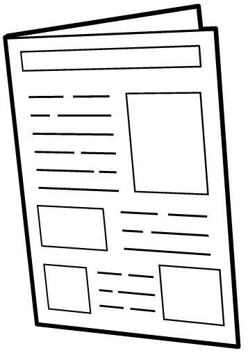 Recursos Y Actividades Para Educacion Infantil Dibujos Para Colorear De Medios De Comuni Cuaderno De Comunicaciones Medios De Comunicacion Portadores De Texto
