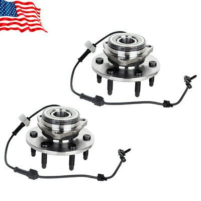 Advertisement Ebay Front Wheel Bearing Hubs For Chevy Silverado 1500 Tahoe Escalade 4x4 6lug Chevy Silverado 1500 Chevy Silverado 1500 4x4 Gmc Pickup Trucks
