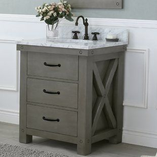 850 Farmhouse Rustic Vanities Birch Lane 30 Inch 849 With