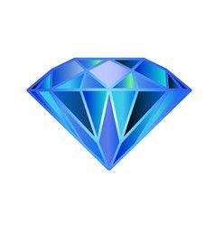 Blue Diamond Symbol Logo Diamond Symbol Diamond Logo Crystal Logo