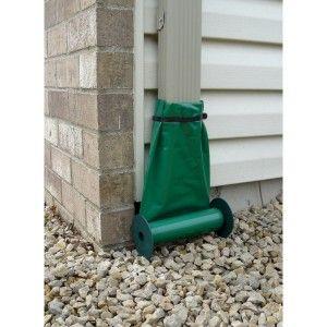Automatic Recoil Rain Drain Downspout Yard Drainage Gutter Drainage