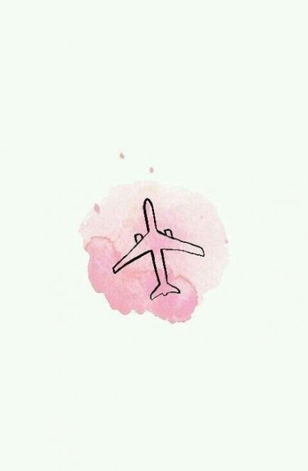 39 Best Ideas Travel Drawing Pink Cute Backgrounds Iphone Wallpaper Travel Wallpaper