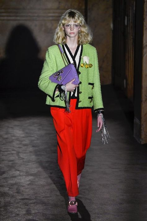 Gucci Spring 2019 Ready-to-Wear Fashion Show Collection: See the complete Gucci Spring 2019 Ready-to-Wear collection. Look 67
