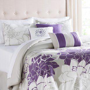 Andover Mills Ramsell 7 Piece Comforter Set Wayfair Comforter Sets Bed Linens Luxury Bedding Sets