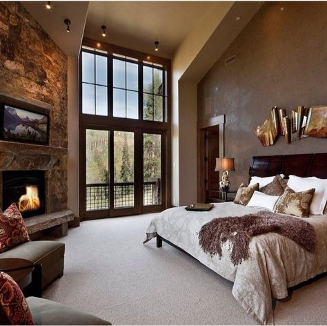 50 Master Bedroom Ideas That Go Beyond The Basics 2019 Dream master bedroom. My-House-My-Home The post 50 Master Bedroom Ideas That Go Beyond The Basics 2019 appeared first on Bedroom ideas. Dream Master Bedroom, Rustic Master Bedroom, Master Bedroom Design, Cozy Bedroom, Home Decor Bedroom, Modern Bedroom, Master Suite, Master Bedrooms, Bedroom Designs