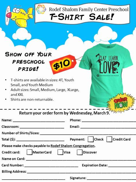 T Shirt Fundraiser Flyer Inspirational T Shirt Sale Fundraiser Flyer Flyer Template Flyer