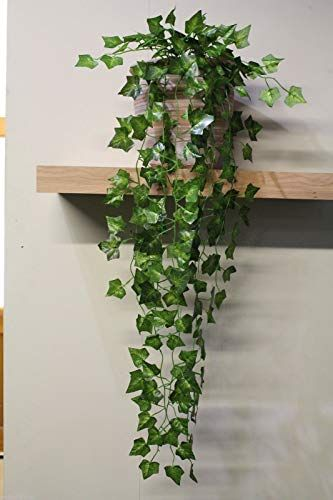 Fejka In Outdoor Hanging Artificial Potted Plant Ikea Artificial Plants Decor Artificial Potted Plants Plant Decor