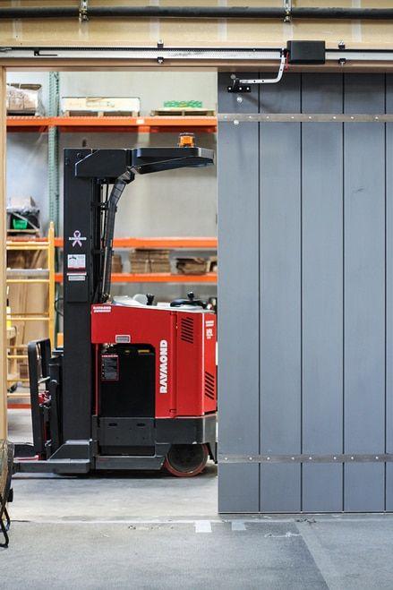Edison Sliding Opener Aos For Garage Doors And Pole Barns Sliding Garage Doors Automatic Sliding Doors Garage Door Types