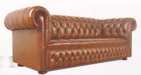 Chesterfield Fauteuil Leer.Chesterfield Traditional Buttoned Seat Chesterfield