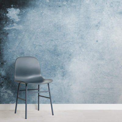 Light Blue Grunge Watercolour Wallpaper Mural Muralswallpaper