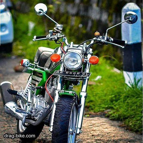 Modifikasi Motor Antik Cb 100 Honda Cb Cafe Racer Honda