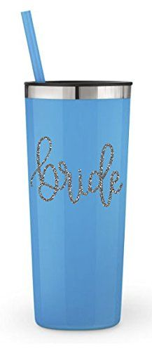 Amazon com | BRIDE Tumbler - Bridal Party stainless steel
