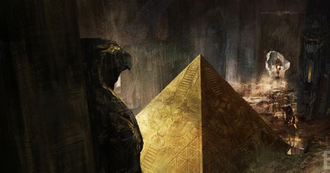 'X-Men: Apocalypse' Art Enters the Villain's Egyptian Tomb -- Bryan Singer reveals 'X-Men: Apocalypse' will serve as a 'conclusion' to the previous movies, and a rebirth for younger characters. -- http://movieweb.com/x-men-apocalypse-art-villain-egypt-tomb/