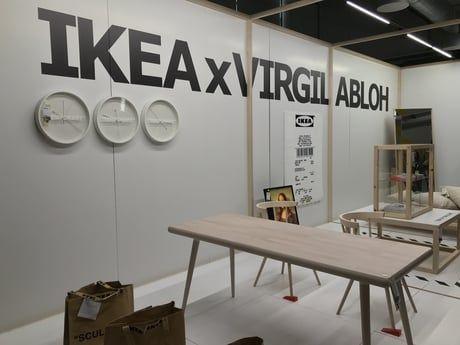 Collection Markerad Ikea X Virgil Abloh Ikea Table Ikea Decoration Maison