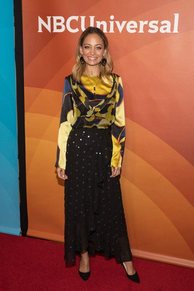 Nicole Richie attends the 2018 NBCUniversal Winter Press Tour.