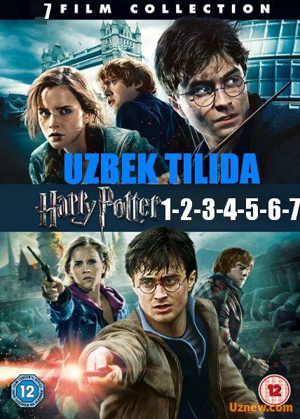 Garry Potter Garri Potter 1 2 3 4 5 6 7 8 Barcha Qisimlari Uzbek Tilida Smotret Onlajn Film Garri Potter Movie Posters