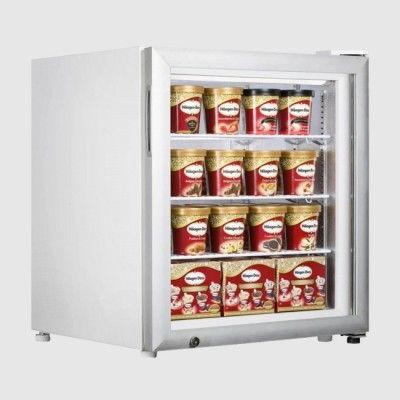 Tefcold Uf100gp Countertop Glass Door Display Freezer 90 Litre