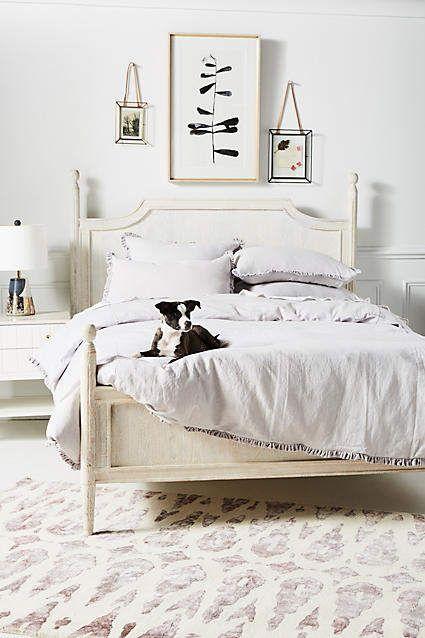Linen Salvage Et Cie Velvet Ruffle Duvet Cover Bed Linens Luxury