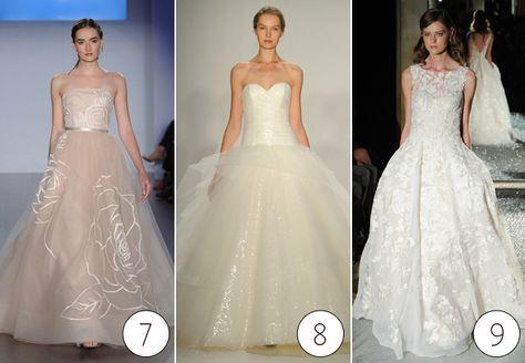 Never seen a dress like #7 before. It's stunning!