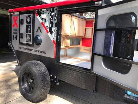 Our newest Adventure Box design is well underway and will be ready for orders in Spring 2017. This version features even more gear storage, a larger star window, bigger doors, top-of-the-line exterior rock protection, even more WOW factor… and, of course, the most comfortable sleeping quarters in the backcountry!
