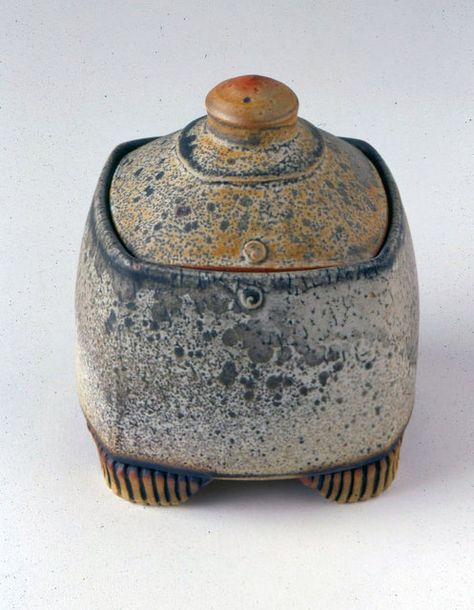 Julie Olson Exhibiting member in Clay Pottery Handbuilding, Raku Pottery, Slab Pottery, Pottery Art, Thrown Pottery, Ceramic Boxes, Ceramic Jars, Ceramic Clay, Clay Box