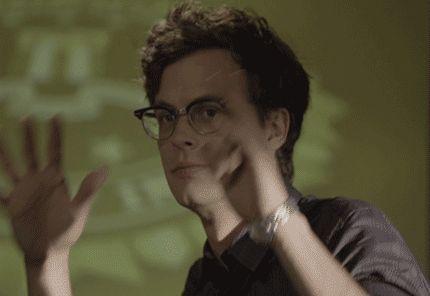 spencer reid glasses. glasses criminal minds matthew gray gubler spencer reid dr | reactions gifs pinterest reid, and r