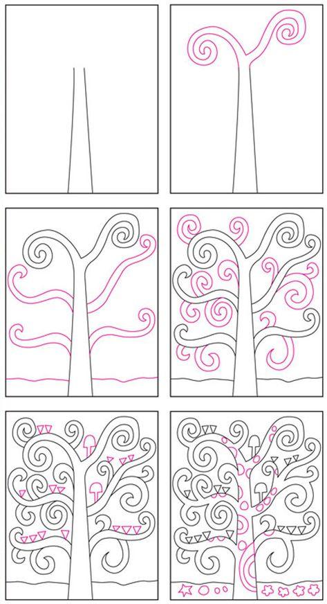 Come Disegnare L Albero Della Vita Di Gustav Klimt