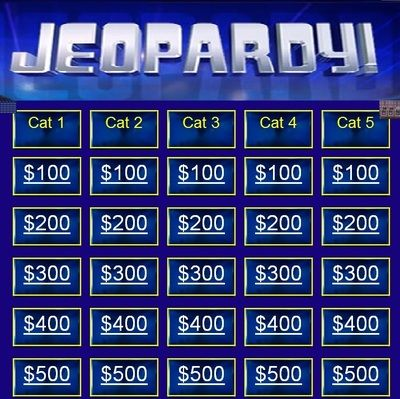 JEOPARDY+BLANK+TEMPLATE+from+SmartApple+on+TeachersNotebook+-+ - jeopardy powerpoint template