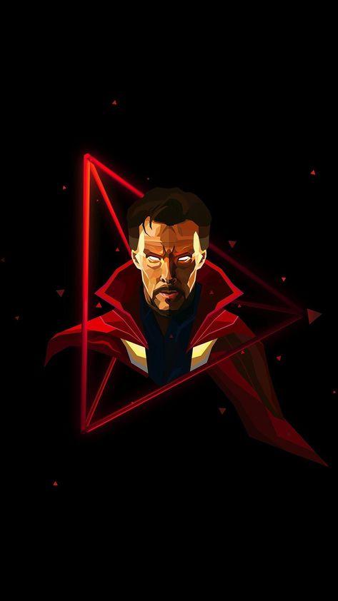 Doctor-Strange-Neon-Avengers-infinity-War-iPhone-Wallpaper - IPhone Wallpapers