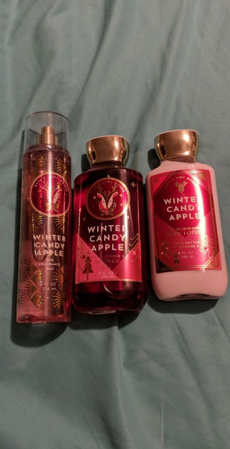 Bath And Body Works Set Winter Candy Apple Love This Scent