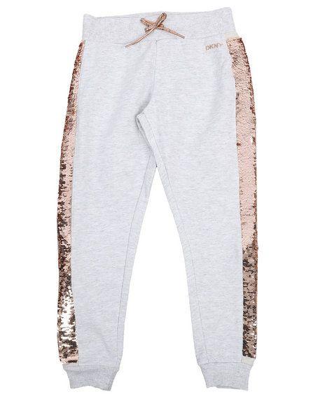 DKNY Girls Sequin Sweatpant