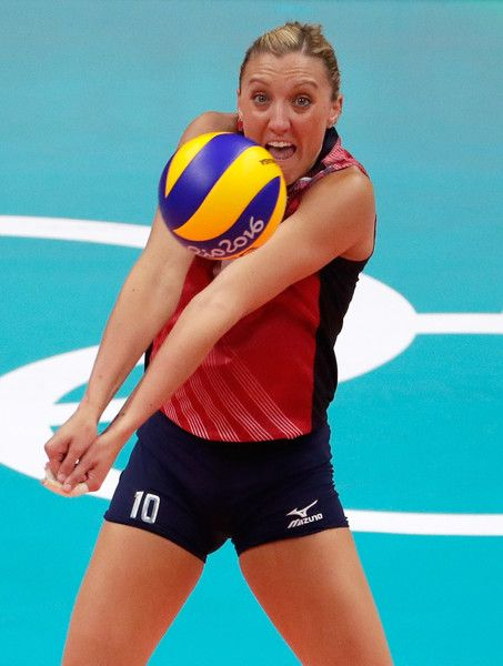 Jordan Larson Burbach Photos Photos Volleyball Olympics Day 13 Usa Volleyball Women Volleyball Female Volleyball Players