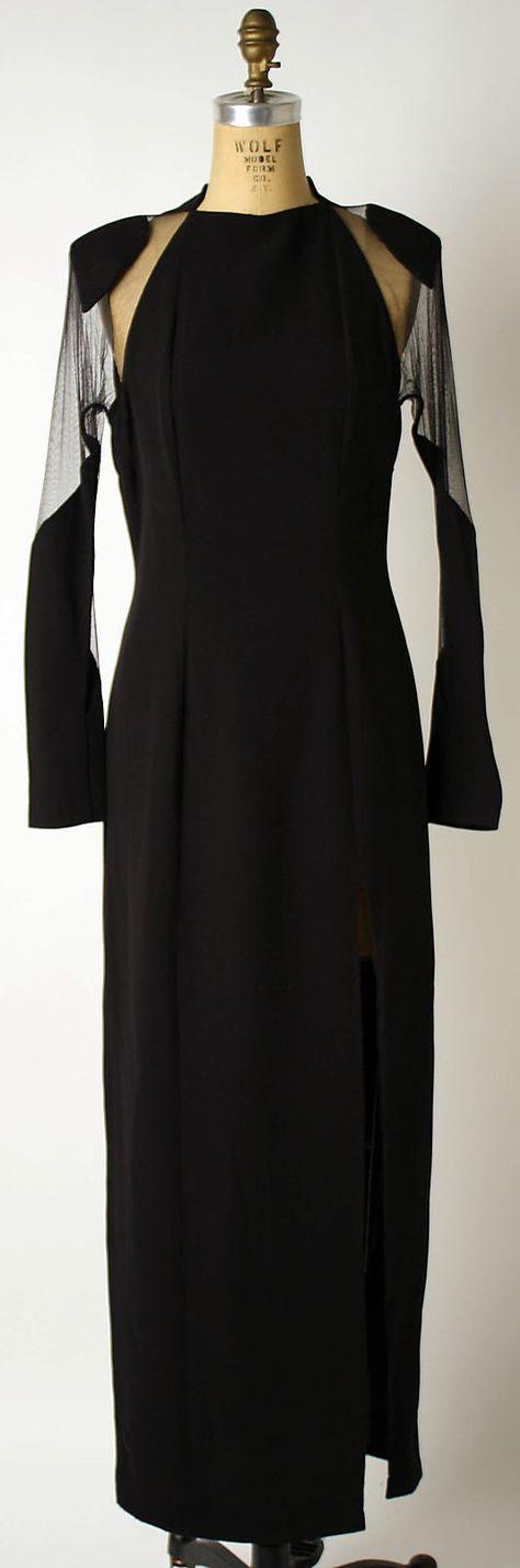 Dress, Evening  Geoffrey Beene  (American, 1927–2004)