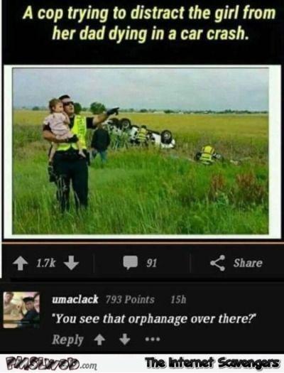 inappropriate humor
