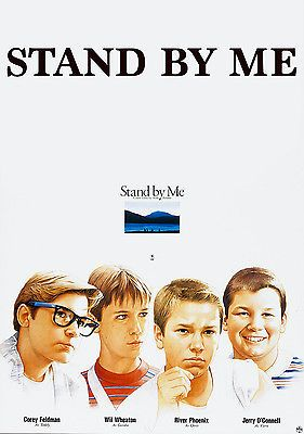 A2 A1 Stand By Me Vintage Classic Movie Art Poster Print A4 sizes A3