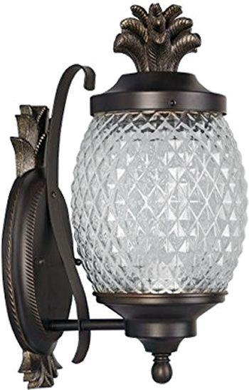 Portfolio Ija1611a Pineapple Outdoor Wall Lantern Traditional Outdoor Lighting Deep Discount Lighti Outdoor Lighting Rustic Outdoor Lighting Large Lanterns